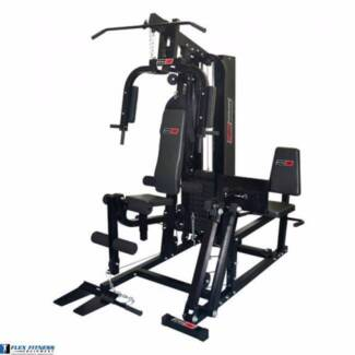 New Home Gym With Leg Press Attachment. Huge 98kg Weight Stack Malaga Swan Area Preview