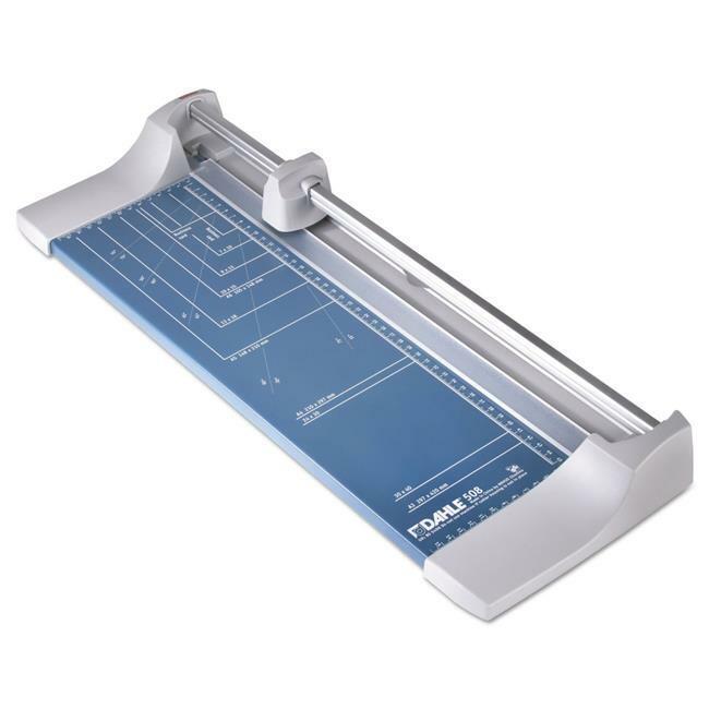 Dahle U.S.A. 508 18 in. Cut Length Rolling-Rotary Paper Trimmer-cutter - 7 Sh...