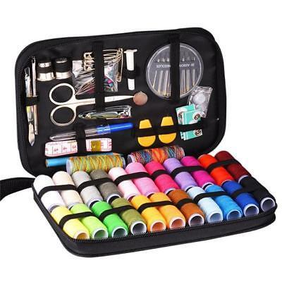 Sewing Kit w/ Mini Travel Kit Scissor Thread Needles Beginner Sew Tools Repair Q