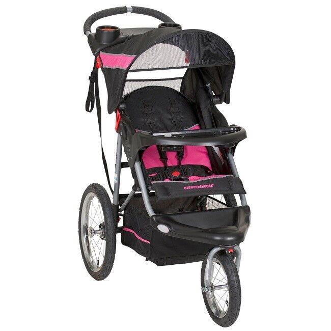 Baby Jogging Stroller Jogger Lightweight Toddler Folding Jog
