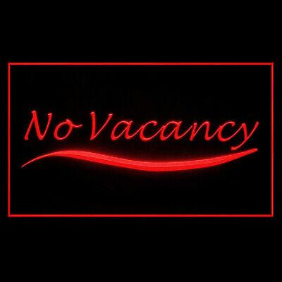 Vacancy Led (120140 No Vacancy Restaurant Closed  Holiday Notice Display LED Light)