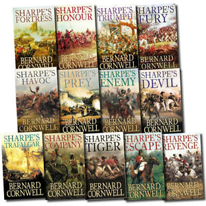 Sharpes-Battle-Collection-Bernard-Cornwell-13-Books-Set-Havoc-Enemy-Devil-Tiger