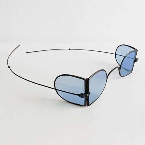 1800s Antique Spectacles Antique Eyeglasses Steel Railway 4 Lenses Spectacles