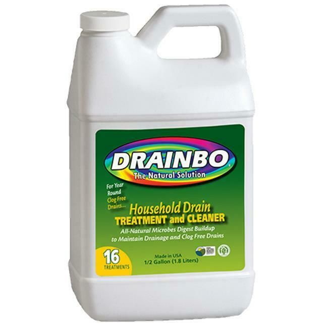 Drainbo 73784 0.5 Gallon Drain Treatment and Cleaner