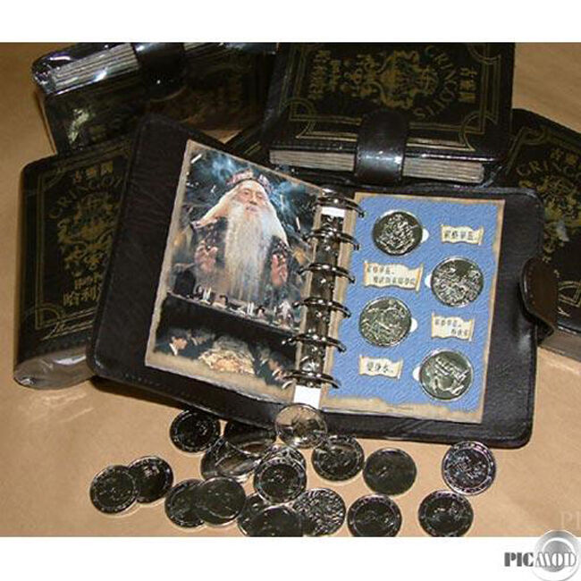 [Express to Worldwide] Harry Potter Chamber of Secrets 24 Coins Collection!!!