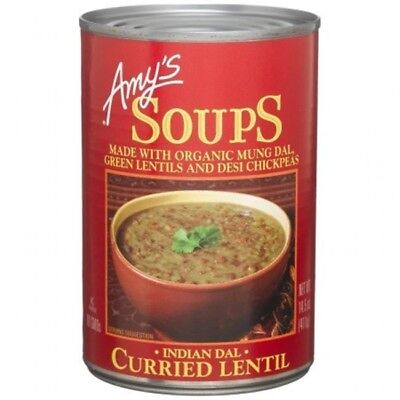 Amys Kitchen 61549 Organic Curried Lentil Soup