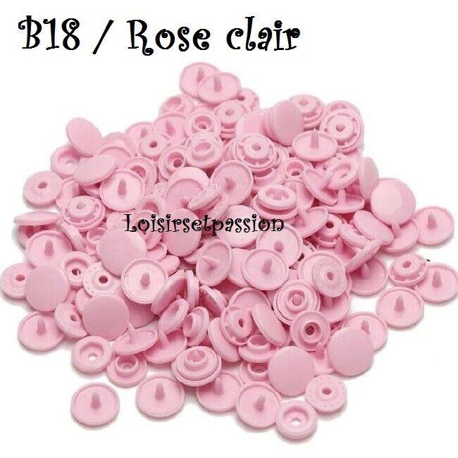 Couleur B18 / ROSE CLAIR
