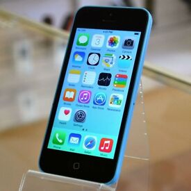 USED APPLE IPHONE 5C - BLUE - 16GB - FULLY WORKING