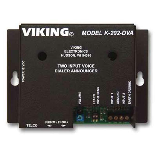 Viking Electronics K-202-DVA Two-input multi-number auto d