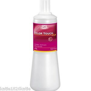 wella color touch plus creme lotion emulsion developer 4 13 volume - Coloration Wella Color Touch