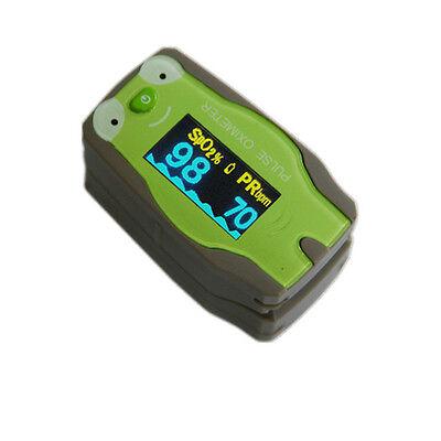 Baby Kids Pediatric Fingertip Pulse Oximeter Health Monitor Spo2 Checker