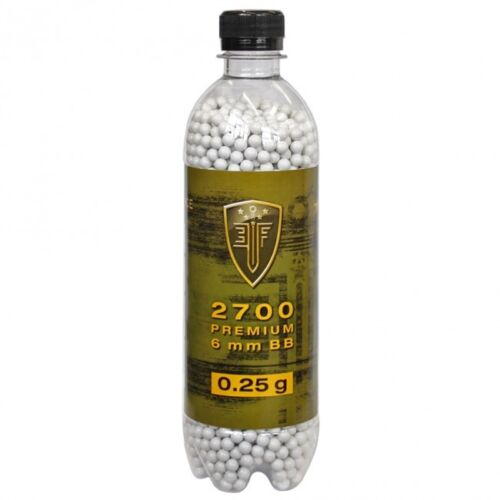 Elite Force Premium .25g 6mm Seamless Airsoft BBs 2700 Rounds 2279505
