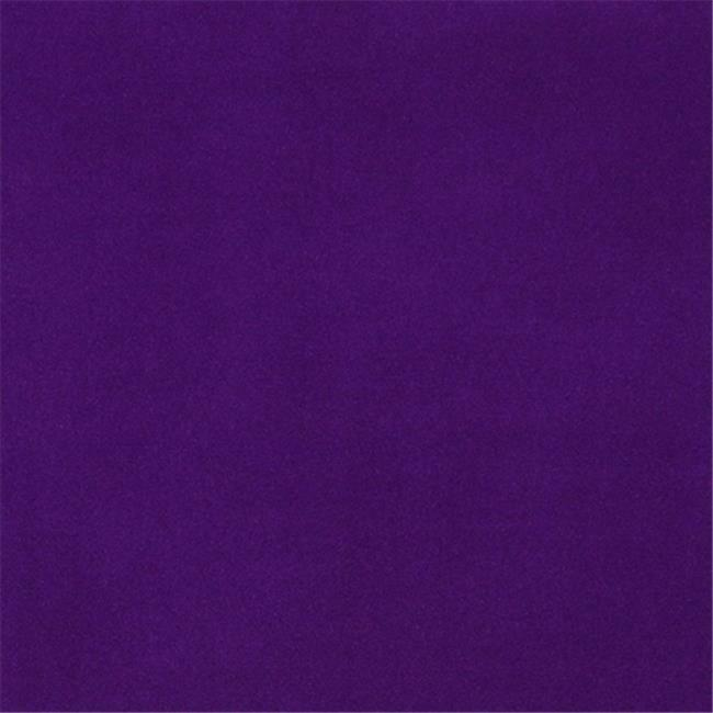 Designer Fabrics C852 54 in. Wide Purple Solid Plain Velvet Automotive Reside...