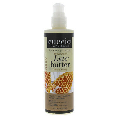 Cuccio Lyte Body Butter, Honey and Soy Milk, 8 Ounce by Cucc