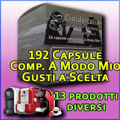 192 capsule cialde Caffè, orzo, ginseng, cioccolata, comp. LAVAZZA A MODO MIO