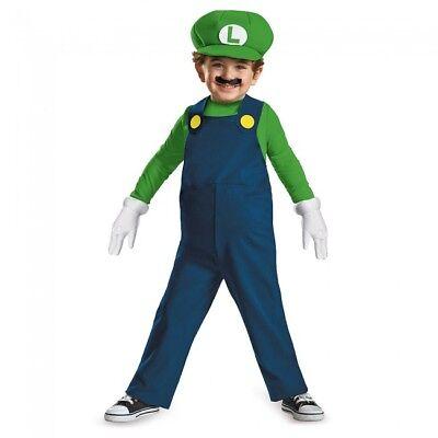 Disguise Super Mario Luigi Videospiel Plattform Kleinkinder Halloween Kostüm