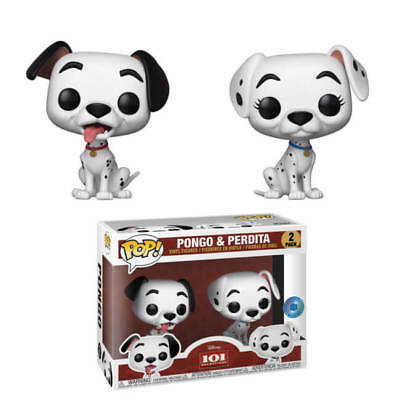 Funko POP! Disney: 101 Dalmatas: Pongo & Perdita Exclusivo