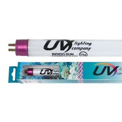 "2 x UV Lighting Indigo Sun T5 V-HO Fluorescent Aquarium Bulbs - 24"" 24W for sale  Fishkill"