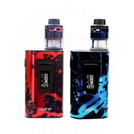 Aspire Typhoon Revvo Kit Sealed includes batteries and liquid