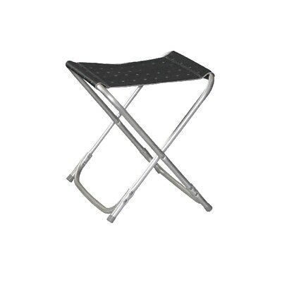 Camping Bel Sol Aluminio Taburete Plegable Silla Grande Antracita