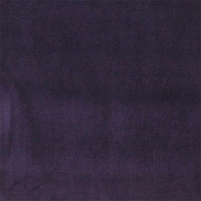 Designer Fabrics K0000J 54 in. Wide Purple Authentic Cotton Velvet Upholstery...