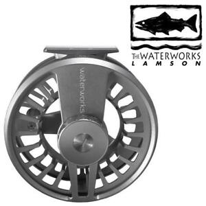 OB LAMSON COBALT 10 FLY REEL CO10 187577163 WATERWORKS FISHING REEL OPEN BOX