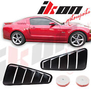 Mustang Side Window Scoops