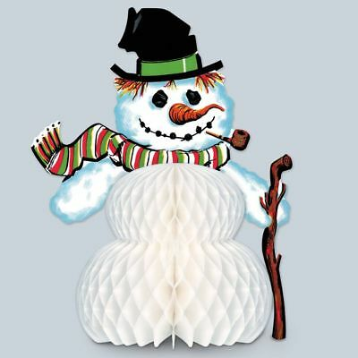 Vintage Christmas Snowman Centerpiece Christmas Party Supplies Decorations](Snowman Centerpiece)