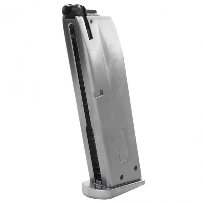 WE Tech M9 Gas Blow Back Airsoft Pistol Magazine 26 Rounds M