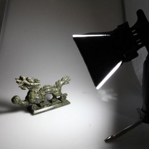 Softbox Kit 2pcs Portable Mini Photo Studio Light 5500K LED Lamp Tripod Stand