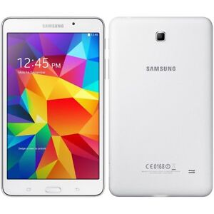 White Samsung galaxy 4 tablet mint