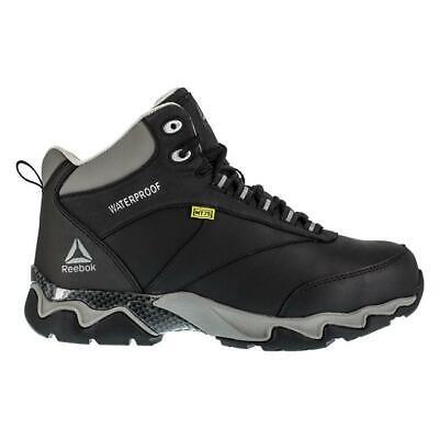 """Reebok mens 6"""" Beamer Met Guard Composite Toe Waterproof work Boots leather"""