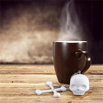 Чай Infusers Silicone Bones Skull Tea
