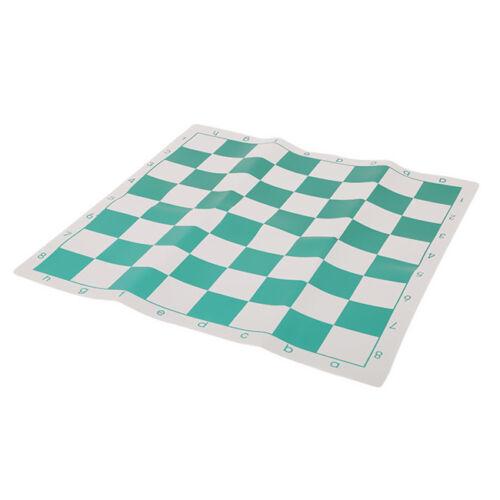 Professional Tournament Chess Set Green-White Board Standard
