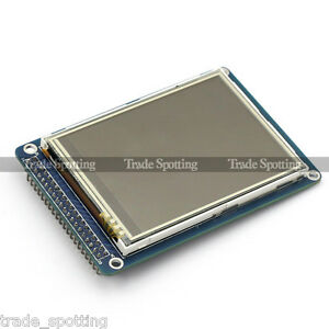 SainSmart-3-2-TFT-LCD-Display-Touch-Panel-PCB-adapter-SD-Slot-for-Arduino-2560