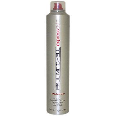 Paul Mitchell Worked Up Hair Spray For Unisex 11 oz Hair Spray