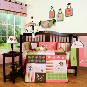 NEW cribs bedding set 13 pieces at $ 149.99 (TX Included)
