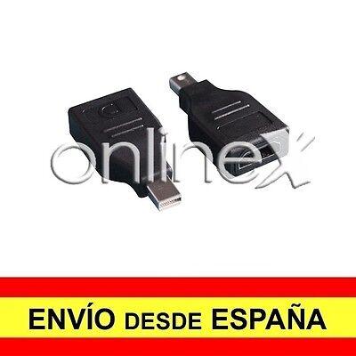 Adaptador Convertidor MINI DP (DisplayPort) Macho a HDMI Hembra a2708
