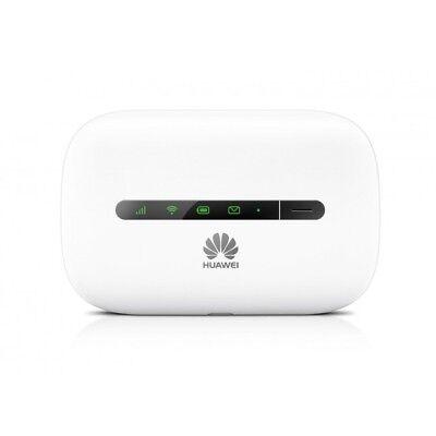Unlock Huawei 3G Responsive WiFi Hotspot Network Router Wireless E5330 Milk-white Device
