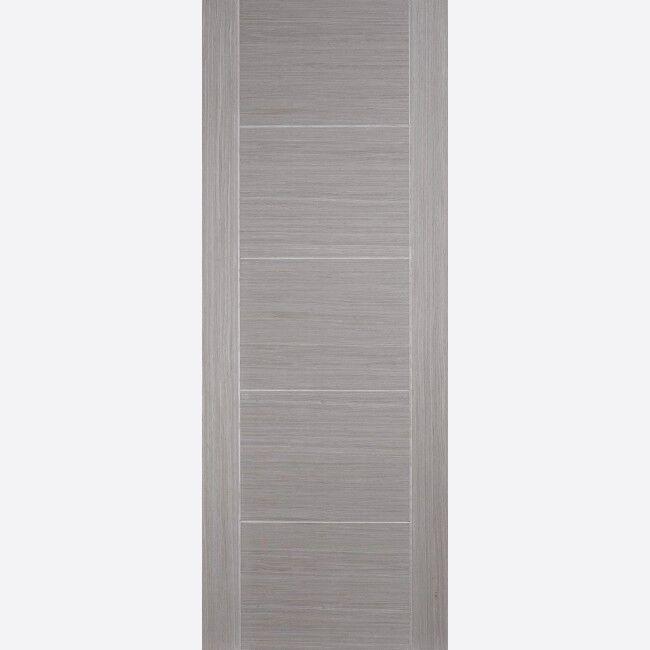 Internal Vancouver Chocolaté Grey Pre Finished FD30 Fire Doors