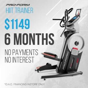 ProForm HIIT Trainer (Elliptical + Stepper)