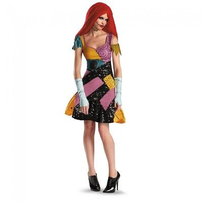 Nightmare Before Christmas Sally Halloween Kostüme (Disguise Nightmare Before Christmas Sally Glam Womens Halloween Costume 59328)
