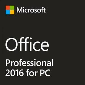 2016 Microsoft Office Professional - Genuine Perpetual  Product Key for 1 PC  - Instant Delivery & Moneyback Guarantee