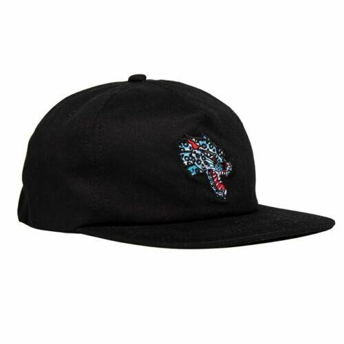 Thrasher Magazine Leopard Mag Logo Black Snapback Hat