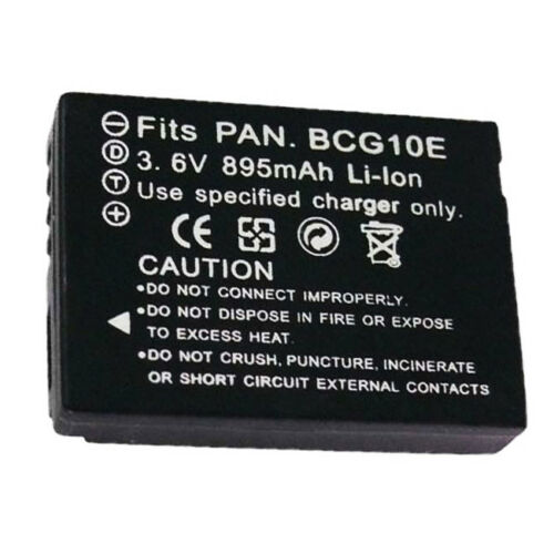 Dmw-bcg10 Replacement Battery Fit For Panasonic Lumix Dmc...