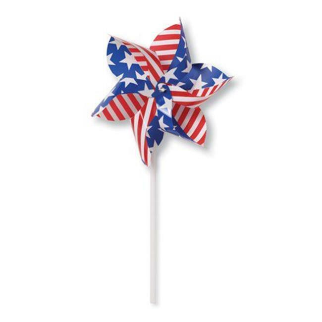Creative Converting 054201 Patriotic Pinwheel - Case of 12