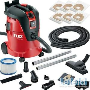 FLEX Staubsauger Industriesauger VCE 26 L MC 405426 inkl. 6 Filter + Zubehör
