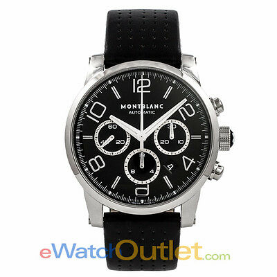 Montblanc Timewalker Chronograph Stainless Steel Black Dial 36063