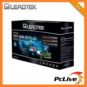 Leadtek WinFast DTV2000DS Plus Dual HD Digital TV Tuner Capture HDTV DVB-T PCI