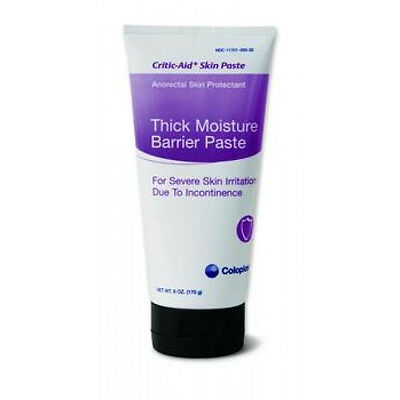 IND Coloplast Critic Aid Thick Moisture Barrier Skin Paste 6 oz Zinc-Oxide Base